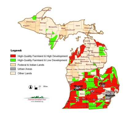 Michigan Farm Quality Map